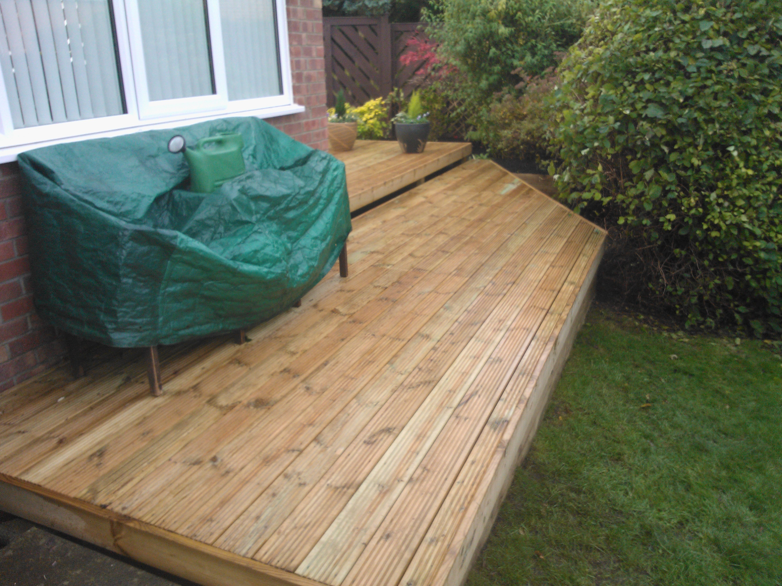Sustainable Recycled Decking Maintenance Garden North East
