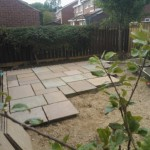 Indian Sandstone Paving Job WP 000611 150x150